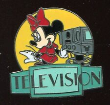 Wdw Cast Lanyard Series 3 Mgm Parking Sign Minnie Television Disney Pin 36559