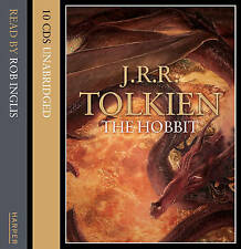 The Hobbit: (Unabridged) by J. R. R. Tolkien 10 CD AUDIO BOOK NEW SEALED