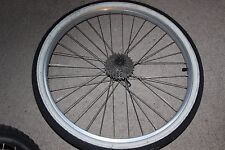 "Used Rear Wheel 26"", Sunrims Rhyno Lite, Shimano Deore FH-M510 VIAM"