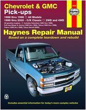 HAYNES REPAIR MANUEL 24065 CHEVROLET & GMC PICK-UP'S '88-98; C/K CLASSIC 99-00