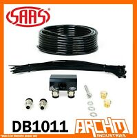 SAAS 2 PORT M8 THREAD 4WD DIFF BREATHER KIT FOR FORD EVEREST 2015-ON DB1011