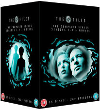 THE X FILES Complete Season 1 2 3 4 5 6 7 8 9 + Movies Box Set NEW DVD R4 Not US