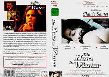 """VHS - """" Ein Herz im WINTER """" (1997) - Emmanuelle Béart - Daniel Auteuil"""