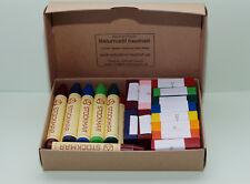 12 wachsmalstifte +12 wachsmalblöcke con rasqueta de Stockmar, Waldorf, nuevo