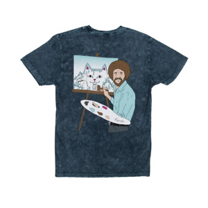 Original Rip N Dip Schöne Mountain T-Shirt - Grün/Grau Blitzschlag Waschung