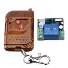 433MHZ DC12V Relay Wireless RF Remote Control Switch Transmitter Module Receiver