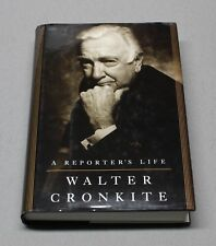 A Reporter's Life Autographed by Walter Cronkite with Signed Letter