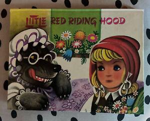 Vintage The Little Red Hood Pop-Up Book by V. Kubasta,1971