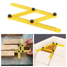 US!Multi-Angle Four-Sided Scale Ruler Measuring Tool Template Outdoor Instrument