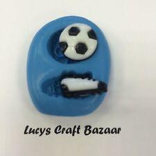 Silicone Mould Mini Football & Boot Sugarcraft Fondant Icing Jewellery Cake Pop