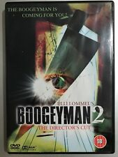 Revenge of The BOOGEYMAN 2 ~ 1981 Bogey Man Horror / DPP Video Nasty  | UK DVD