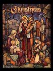 """The Shepherds Arrive"" 1950 Christmas Art Print By David Workman (9-4/8"" x 13"")"