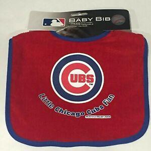 MLB Chicago CUBS - Infant Newborn Baby Bib red - Official MLB Licensed - NEW!