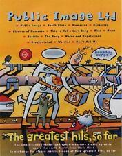 Public Image Ltd Sex Pistols VOX LP advert