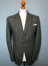 Vintage bespoke Anderson & Sheppard Savile Row tweed suit size 42