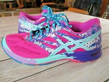 Asics Women's Gel Noosa Tri 10 T580N Pink Purple Running Shoes Lace Up Size 9