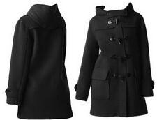 Oversized Toggle WOOL COAT Hooded Jacket  YJ075 plus size 1x-10x (SZ16-52)