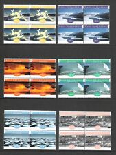 NEW ZEALAND 1998 ROSS DEPENDENCY 'ICE FORMATIONS' SET IN BLOCKS OF 4 (UHM)