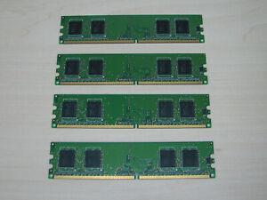 Hynix DDR2 1GB (4 X 256MB) PC2-3200 DDR2-400 HYMP532U64P6-E3 TEST OK!