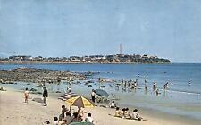 USA - New Hampshire  -  Beach at Hampton Beach - in the background Boar's Head