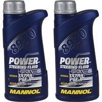 2x500 ml Original MANNOL 8970 Power Steering Fluid Hydraulikflüssigkeit Servoöl