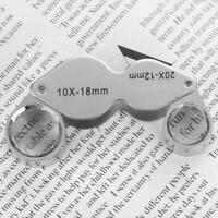 Professional Jeweler Eyes Loupe Magnifier Magnifying Glass Jewelry Diamond Tools