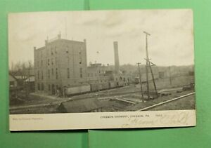 DR WHO 1909 CRESSON PA BREWERY POSTCARD  f69509