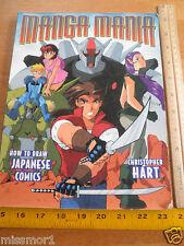 Manga Mania Christopher Hart book How to draw Japanese comics