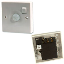 PIR Motion Sensor Wall Light & On/Off Switch -1 Gang 240V 10A-Automatic Movement