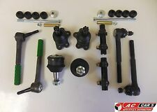 Set Suspension Steering Ball Joints Tie Rod Ends Sway Bar Links Sleeves
