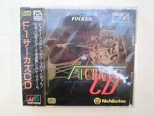 Mega CD -- F-1 CIRCUS CD -- NEW,  Sega Genesis JAPAN. Are sealed