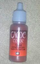 Vallejo Paint Game Color Dark Fleshtone 72044 Eye Dropper Bottle 17ml