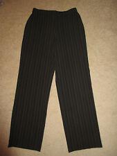 PANTS - Haggar - Brown with pin stripes - Sz 8 Regular