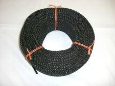 Corde polypropylène Noir câblé 6 mm couronne 300 m