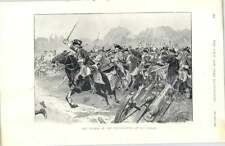 1897 Charge Of The Inniskillings At Le Cateau Battle Of The Boyne