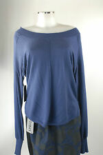 Apriori Pullover 38 40 blau Strick oversized Viskose Kaschmir neu mit Etikett