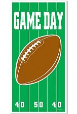 Football Game Day DOOR COVER Sports BIRTHDAY Party Prop Decoration SUPERBOWL
