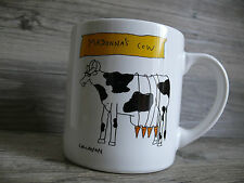 Coffee Mug 90's Madonna's Cow & Cat Novelty Callahan 12 oz Vintage Music Gift