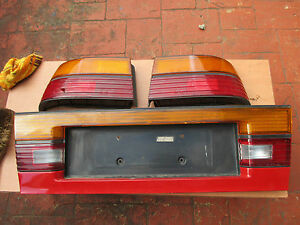 Mazda MX-6 Turbo tail light Pair 1987 - 1992 Taillight plus centre panel