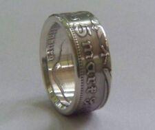 GERMAN 5 reichsmark silver ring  size 7 - 11