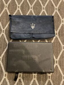 Maserati Spider Convertible Cambiocorsa Oem Parts Kit Tool Bag tow hook rare ⭐️