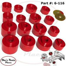 Prothane 6-116 Body Mount Bushing Kit-16pc 01-05 Explorer Sport Trac-ONLY- 2&4WD