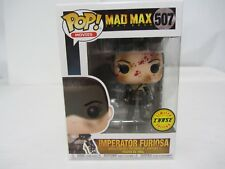 Funko Pop! ~ Mad Max Imperator Furiosa  #507 Limited Chase Edition  w/ Protector