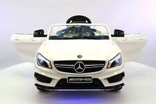 Mercedes CLA45 12V Kids Ride-On Car with R/C Parental Remote | White