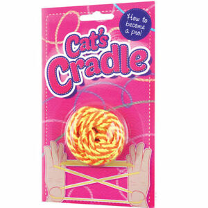 String Cat's Cradle Skill Toys Gift Girls Classic Game Birthday Party Bag Filler