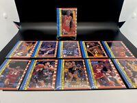 1987-88 Fleer Basketball Sticker Complete Set Michael Jordan , Magic, Bird HOF