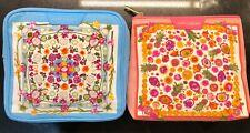 2 Estee Lauder cosmetic bag/makeup bag/toiletry case/stationary storage bag