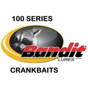 "Bandit 100 Series Crankbaits, 2"", 1/4 oz, New, Choice of Colors"