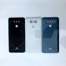OEM For LG G6 G7 G8 ThinQ Back Battery Glass Cover With Camera Lens Replacement