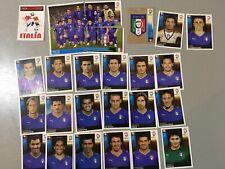 panini EURO 2008 UEFA equipe complete ITALIA  SOIT 26 IMAGES D ORIGINE